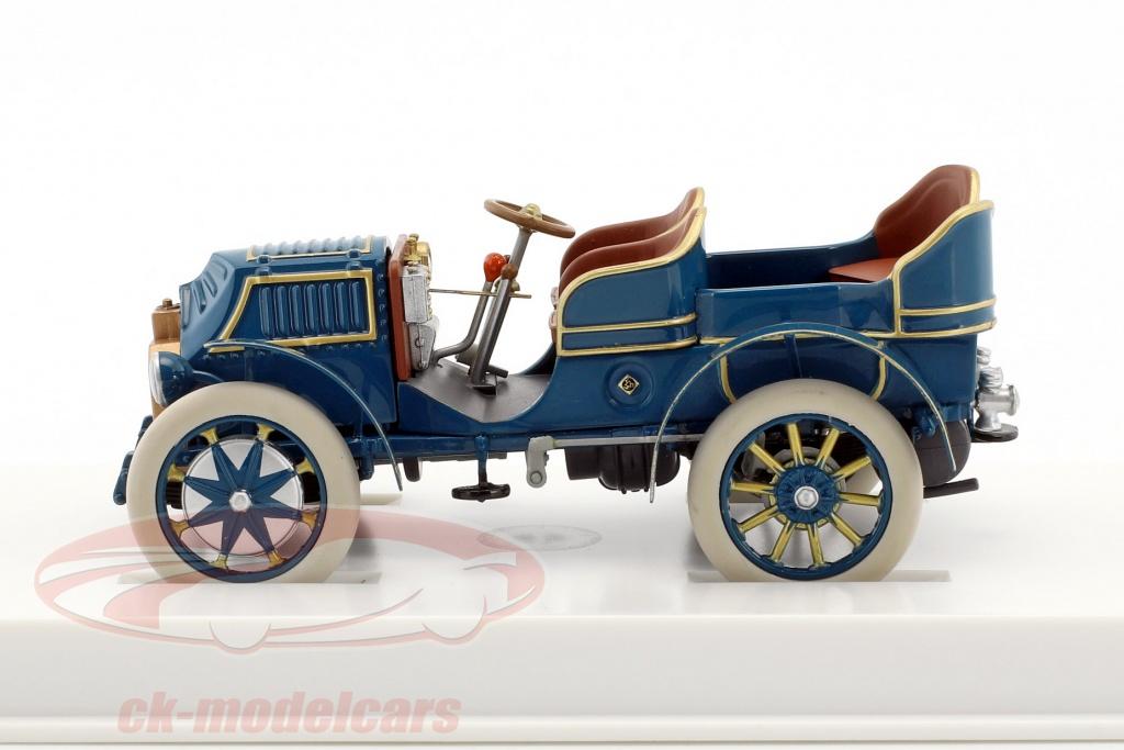 MAP02035008 Porsche Museum blau Lohner-Porsche Mixte 1901 1:43