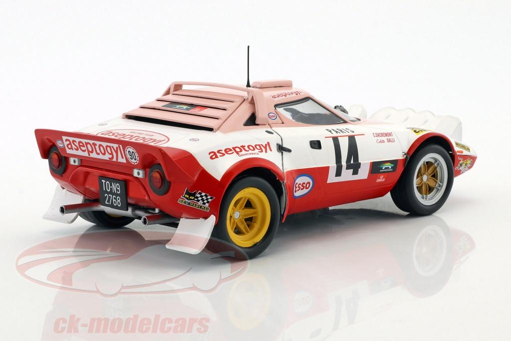 Lancia Stratos HF nº 14 rally monte carlo 1977