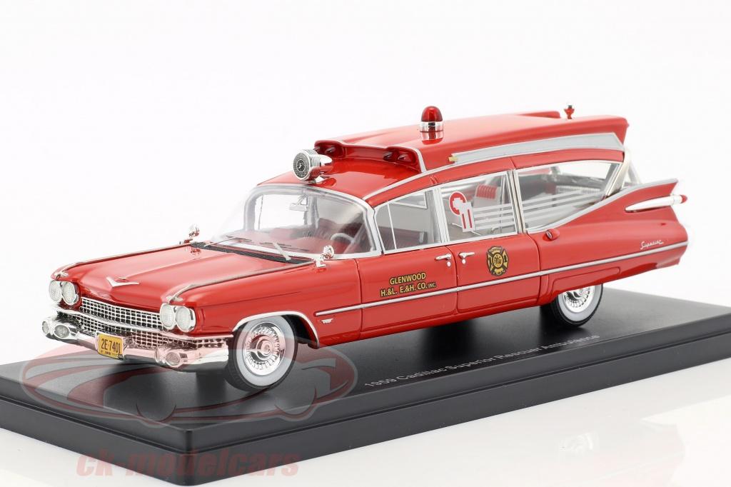neo-1-43-cadillac-superior-rescuer-ambulance-anno-di-costruzione-1959-rosso-neo45262/