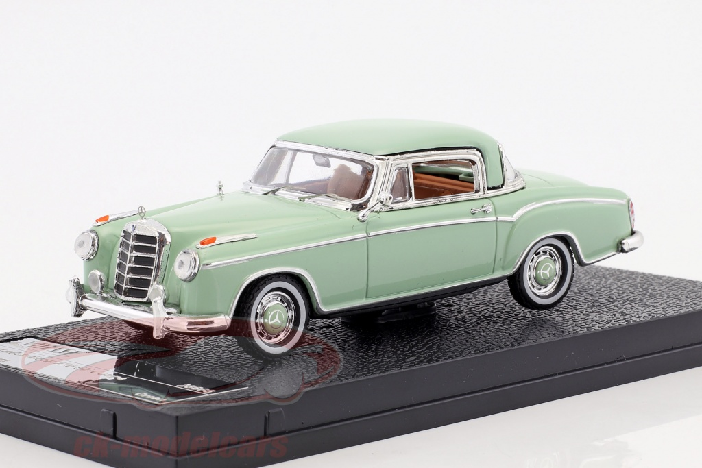 vitesse-1-43-mercedes-benz-220-se-coupe-year-1958-bright-green-28666/