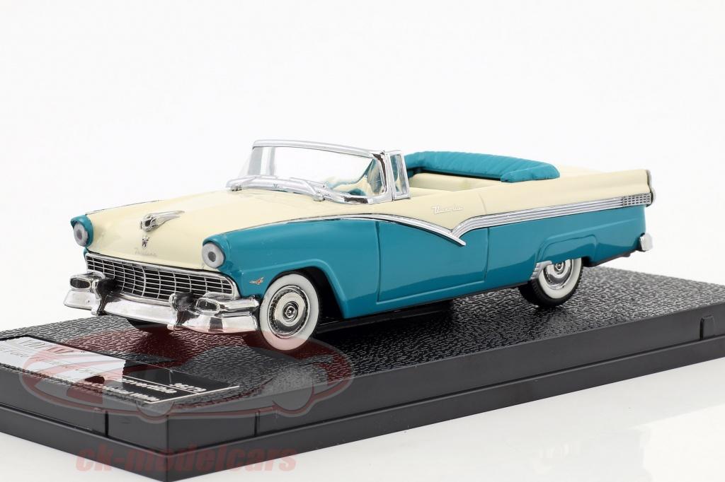 vitesse-1-43-ford-fairlane-open-converteerbaar-bouwjaar-1956-blauw-wit-36279/