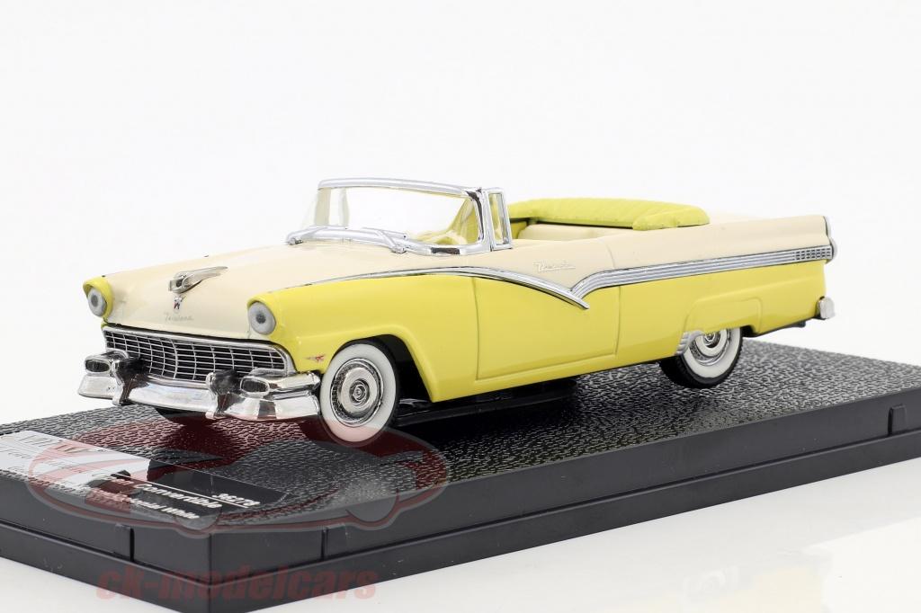 vitesse-1-43-ford-fairlane-open-convertible-year-1956-yellow-white-36278/