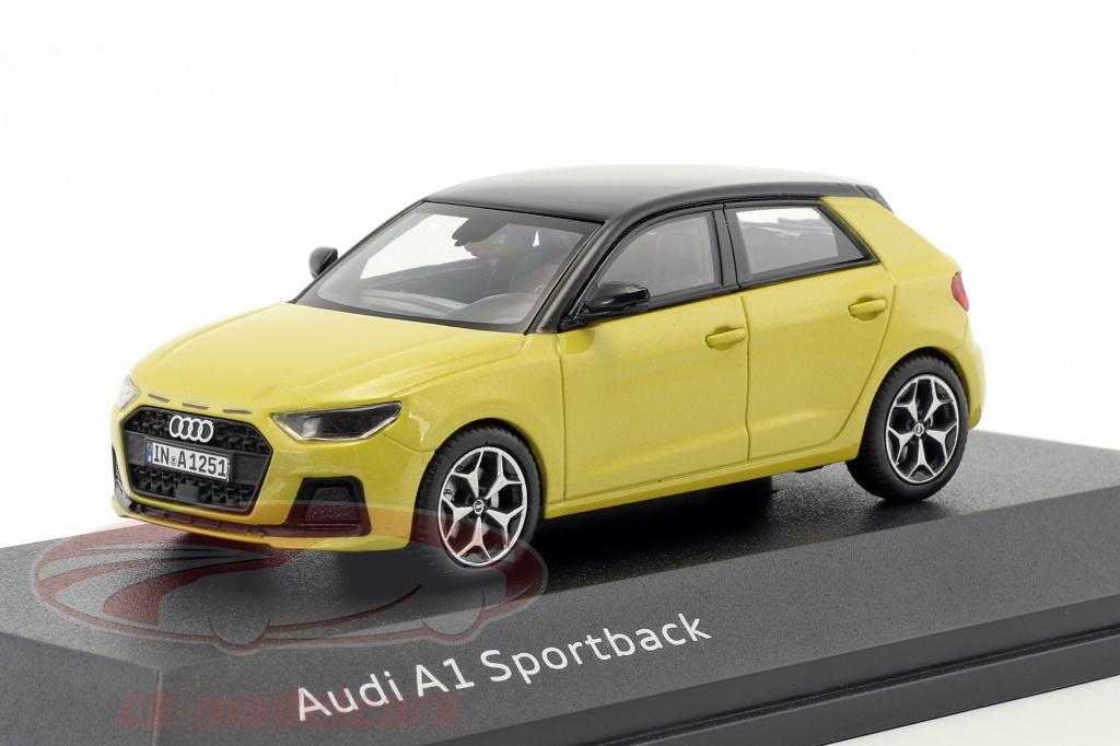 iscale-1-43-audi-a1-sportback-phyton-gul-5011801032/