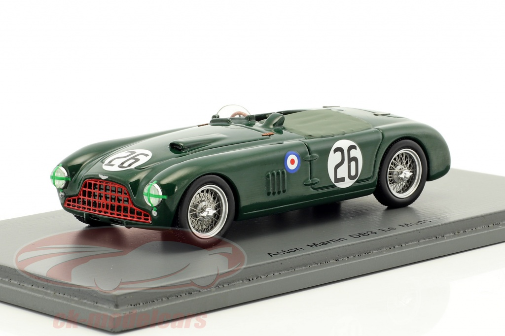 spark-1-43-aston-martin-db3-no26-24h-lemans-1952-poore-griffith-s2433/