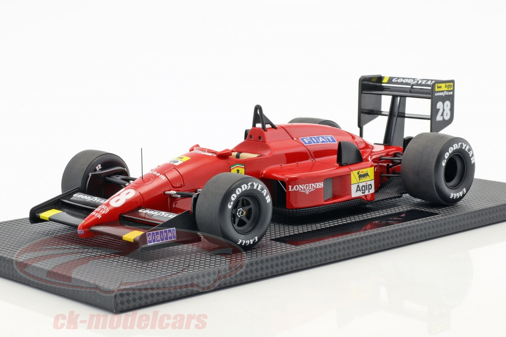 1 Berger Ferrari 8788c28 1988 18 Gp Gerhard F1 Replicas 1 Formula QCxrtshdB