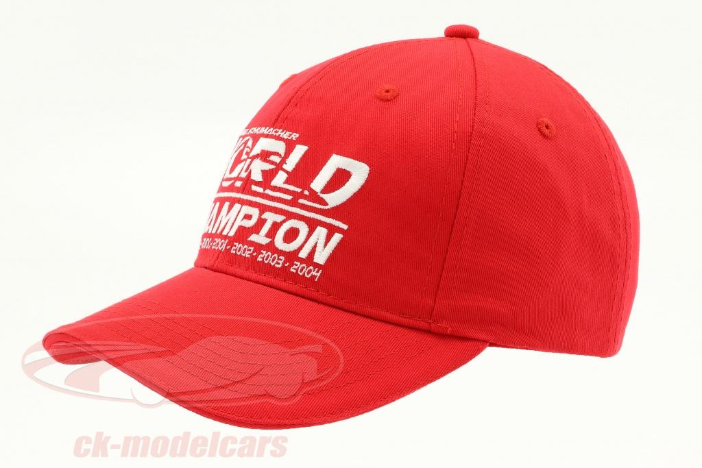 michael-schumacher-chapeau-world-champion-rouge-ms-18-005/