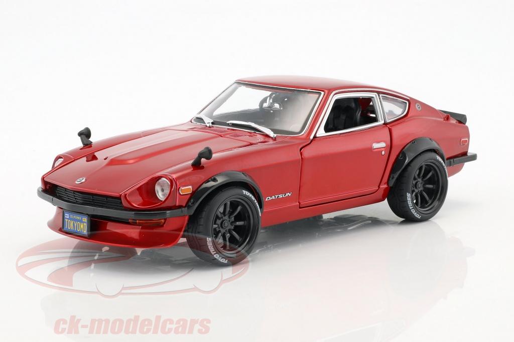 maisto-1-18-datsun-240z-anno-di-costruzione-1971-tokyo-mod-rosso-metallico-32611/