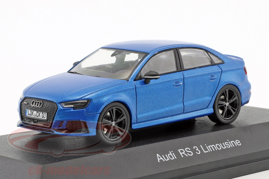 iscale-1-43-audi-rs-3-limousine-bleu-metallique-43000036/