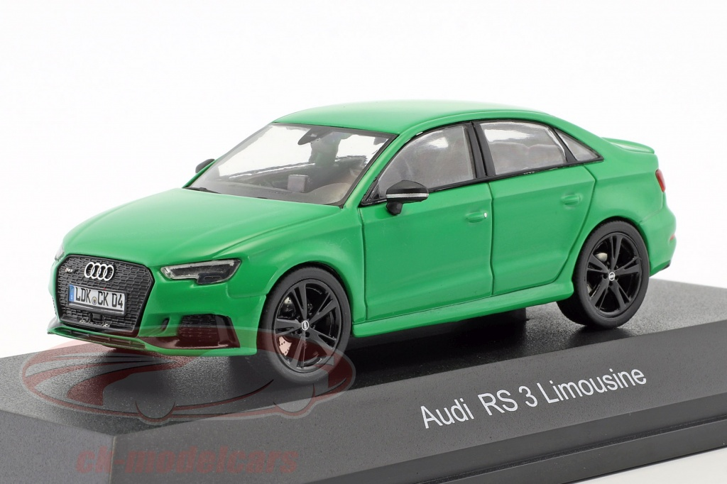 iscale-1-43-audi-rs-3-limousine-green-43000043/
