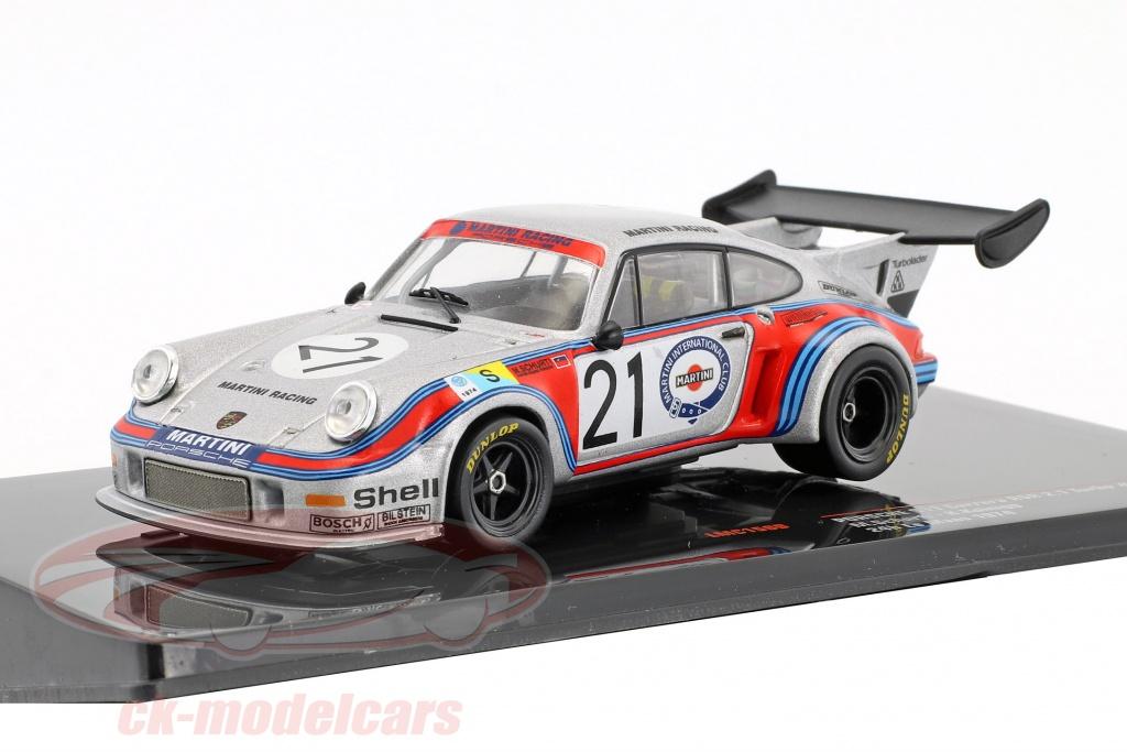 ixo-1-43-porsche-911-carrera-rsr-21-turbo-no21-24h-lemans-1974-schurti-koinigg-lmc158b/