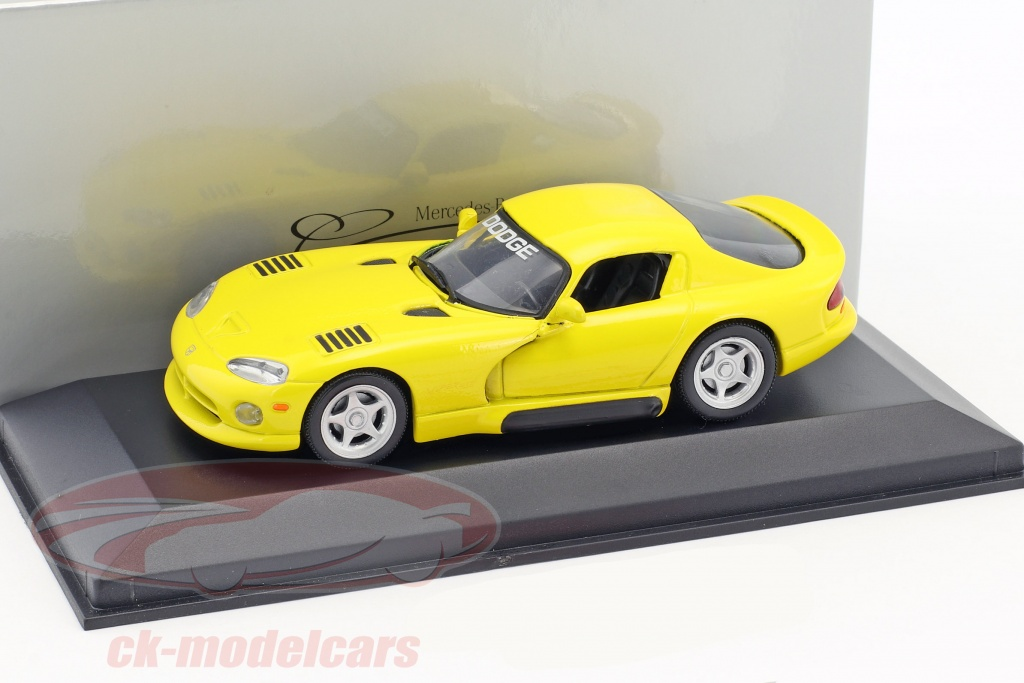 minichamps-1-43-dodge-viper-coupe-jaune-ck48306/