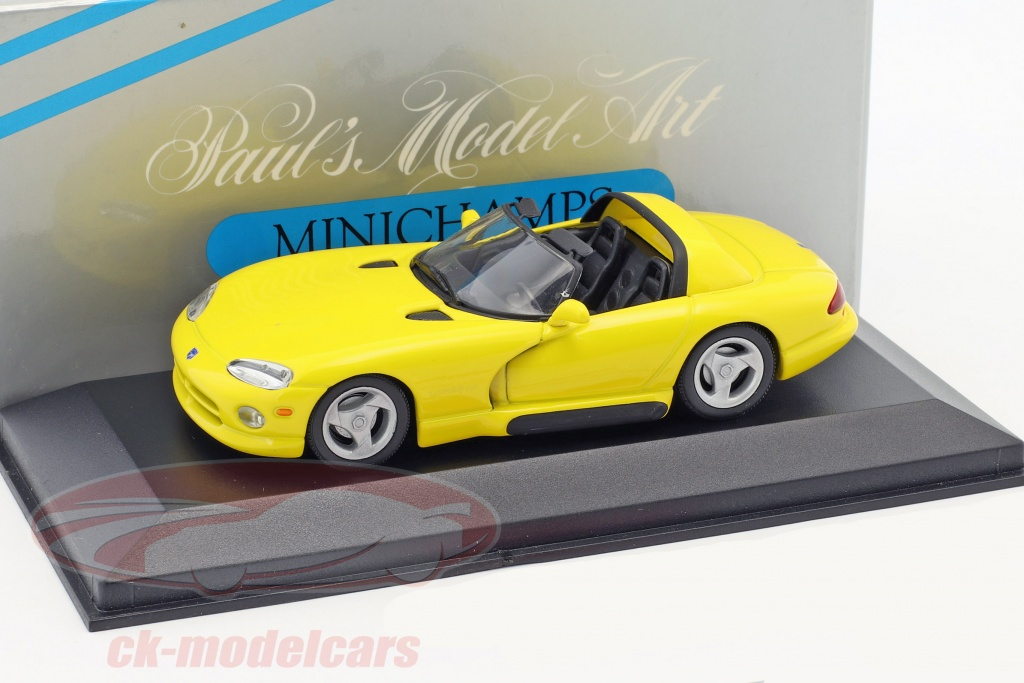 minichamps-1-43-dodge-viper-cabriolet-yellow-ck48307/