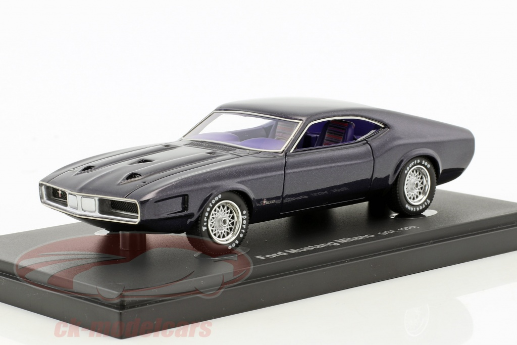 autocult-1-43-ford-mustang-milano-usa-an-1970-fonce-violet-60017/