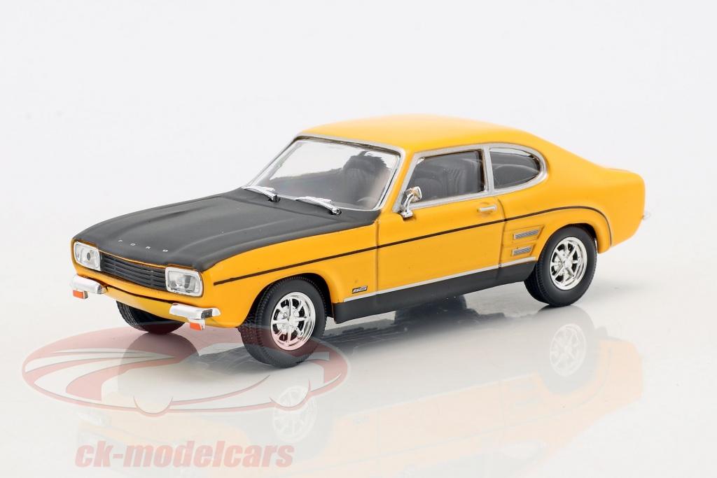 cararama-1-43-ford-capri-rs-bouwjaar-1970-geel-zwart-4-14070/