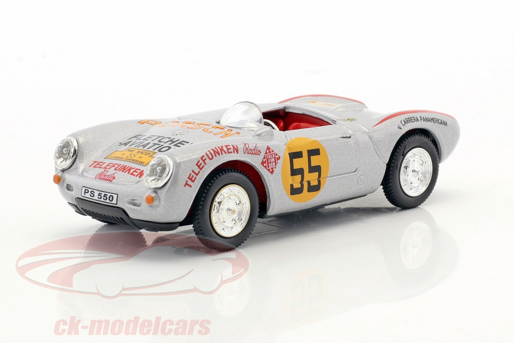 cararama-1-43-porsche-550a-spyder-no55-3rd-carrera-panamericana-1954-hans-herrmann-4-10170/