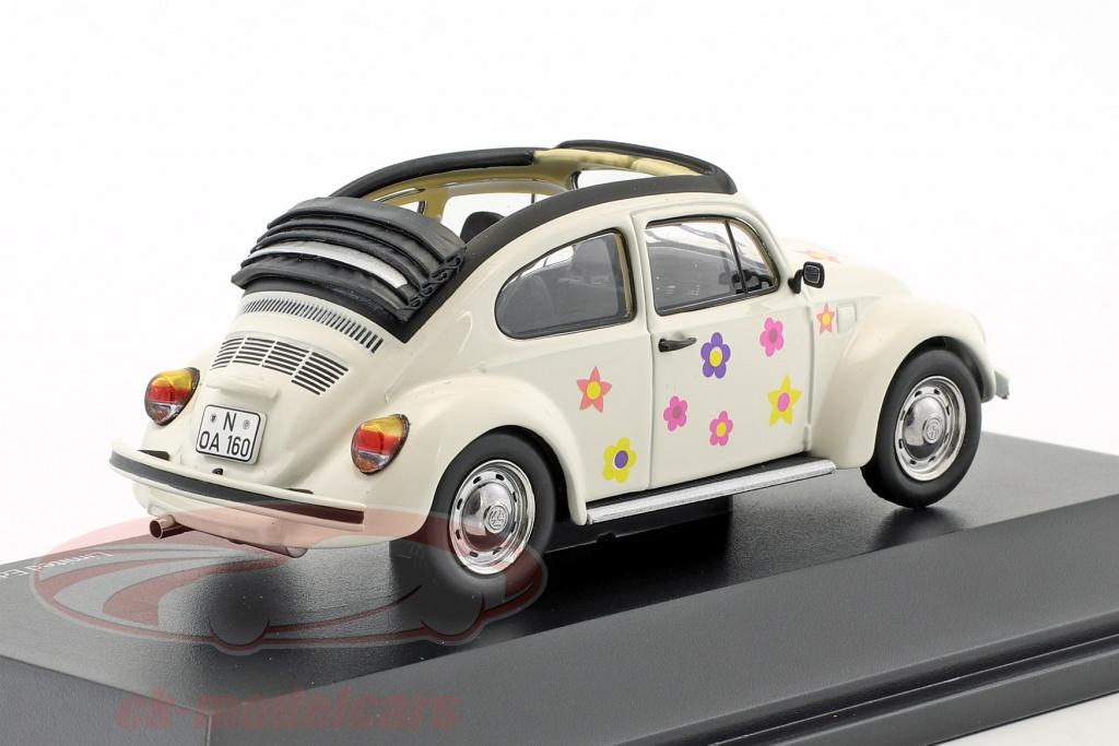 schuco-1-43-volkswagen-vw-coleoptere-open-air-fleur-decor-blanc-450389600/