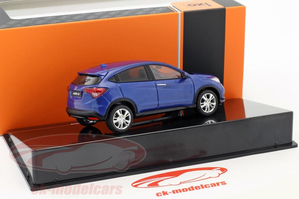 Ixo 1:43 Honda HR-V Hybrid Bouwjaar 2014 blauw metalen ...