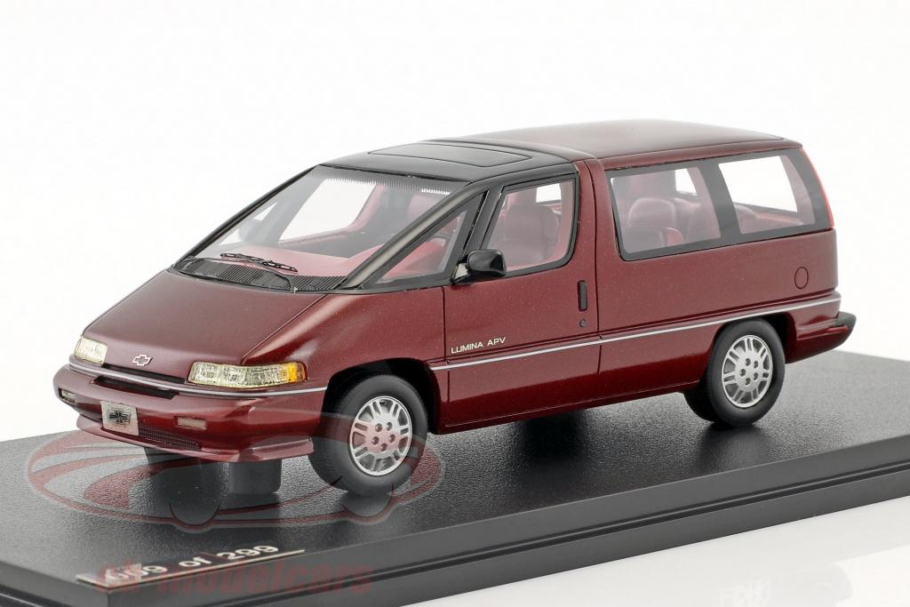 great-lighting-models-1-43-chevrolet-lumina-apv-anno-di-costruzione-1991-rosso-glm102602/