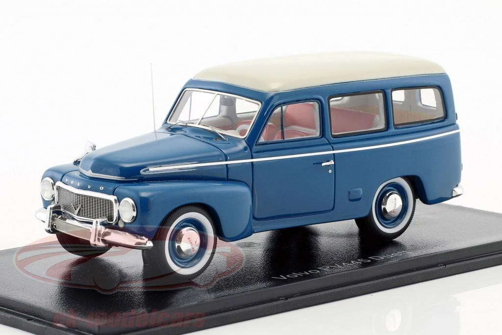 neo-1-43-volvo-duett-pv445-anno-di-costruzione-1956-blu-bianco-neo45723/