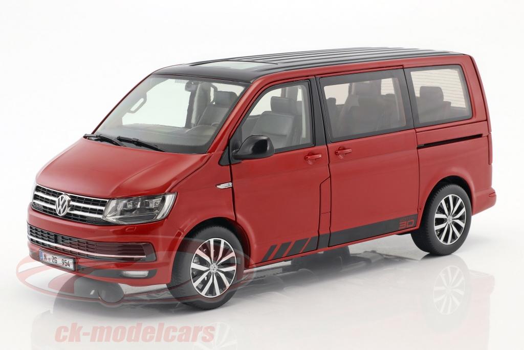nzg-1-18-volkswagen-vw-t6-multivan-edition-30-red-lx95420010/