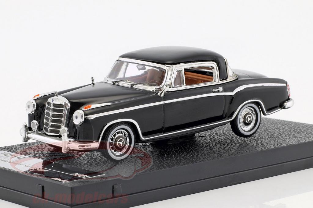 vitesse-1-43-mercedes-benz-220-se-coupe-opfrselsr-1959-sort-28663/
