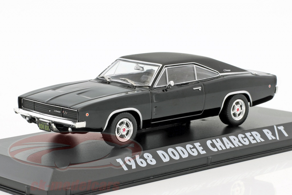 T Steve McQueen aus dem Film Bullitt 1968 1:43 Greenlight Dodge Charger R