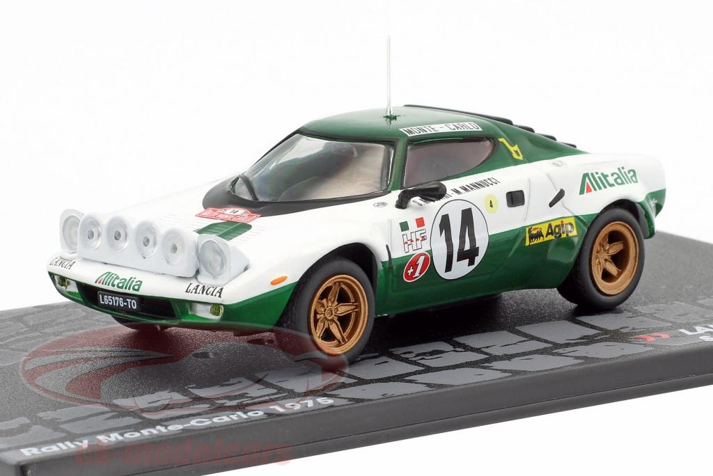altaya 1:43 lancia stratos hf #14 rally monte carlo 1975 munari