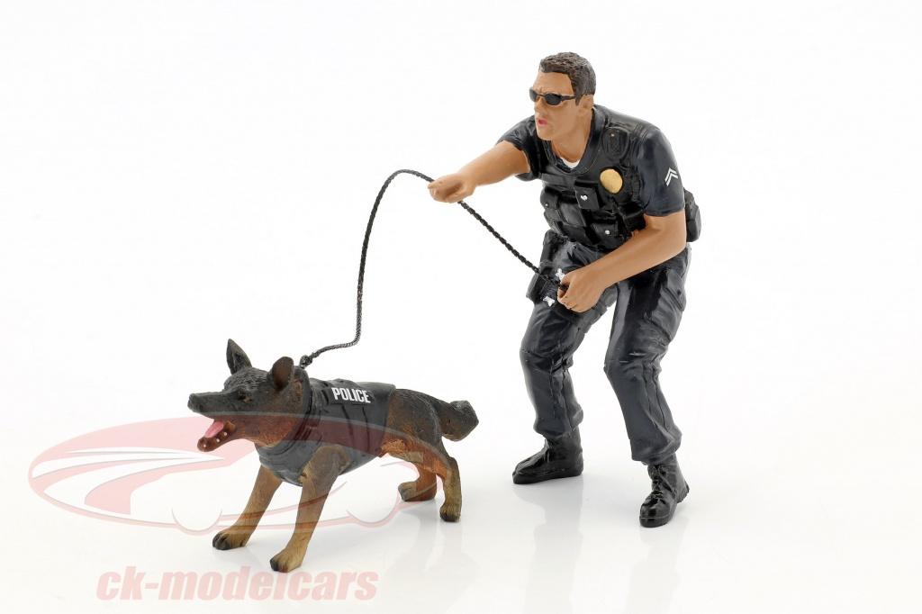 american-diorama-1-18-police-k9-unidad-set-ii-police-officer-y-k9-perro-ad38164/