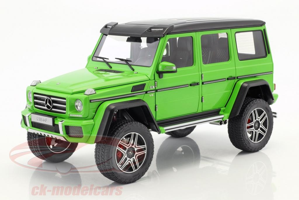 autoart-1-18-mercedes-benz-classe-g-g500-4x4-anno-di-costruzione-2016-alien-verde-76315/