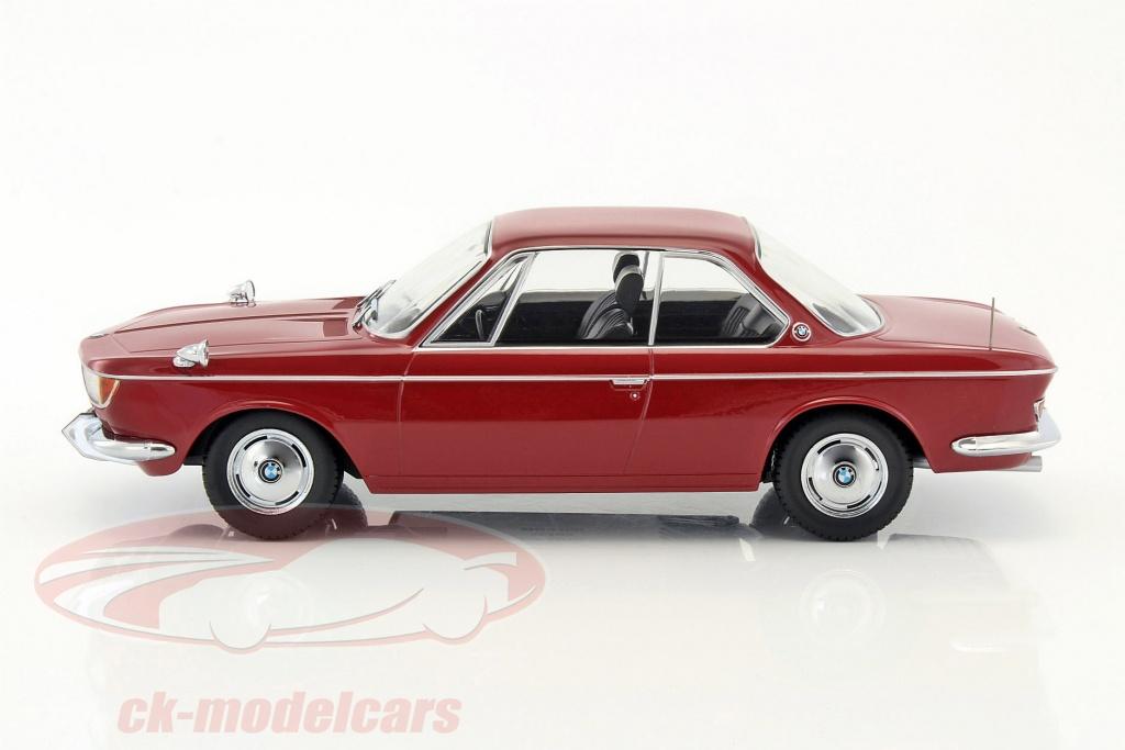 1:18 KK-Scale  />/>NEW/</< BMW 2000 CS 1965 dunkelrot