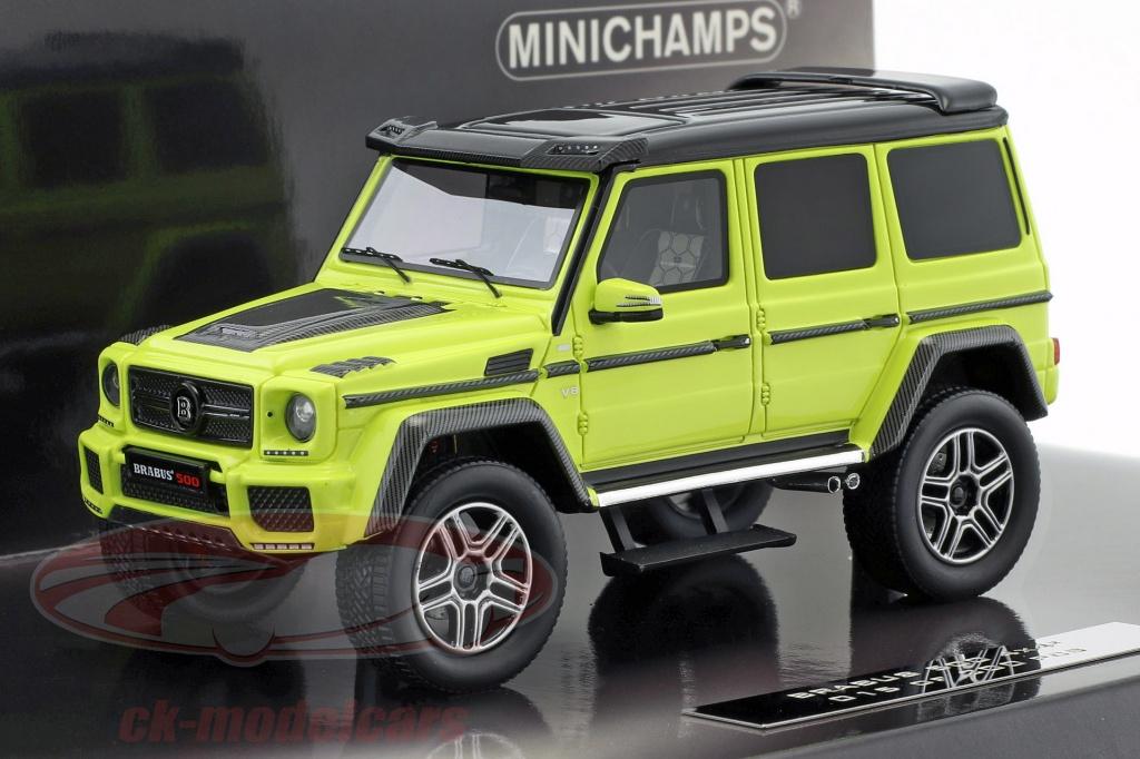 minichamps-1-43-brabus-500-4x4-based-on-mercedes-benz-g500-4x4-year-2016-green-yellow-437032464/