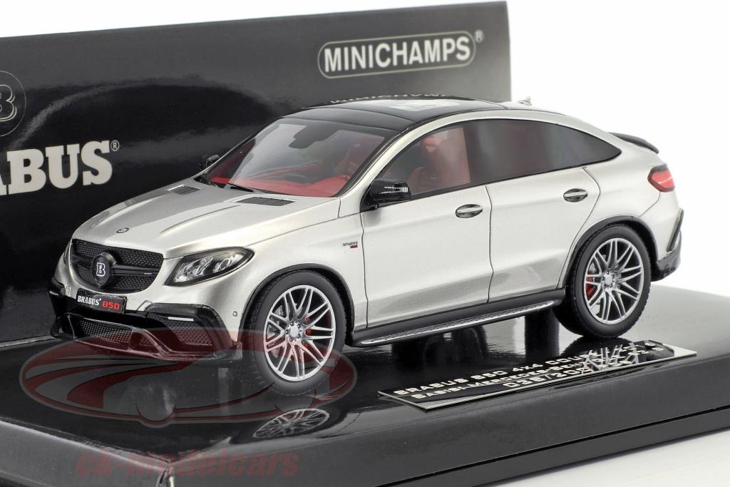 minichamps-1-43-brabus-850-4x4-coupe-auf-basis-mercedes-benz-amg-gle-63-s-baujahr-2016-silber-437034314/