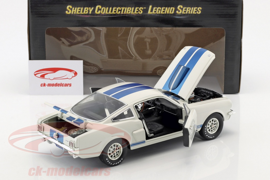 SHELBY COLLECTIBLES 1//18 SHELBY160 FORD MUSTANG SHELBY GT 350
