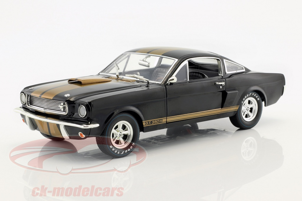 shelby-collectibles-1-18-ford-mustang-shelby-gt-350h-year-1966-black-gold-shelby360/