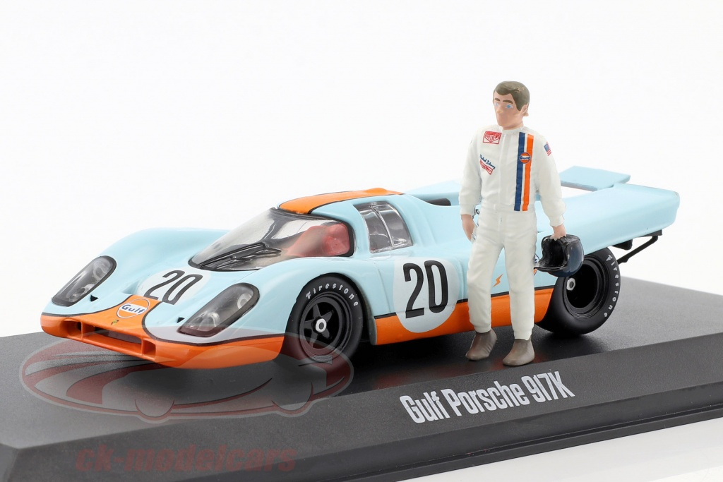 greenlight-1-43-gulf-porsche-917k-no20-with-steve-mcqueen-figure-gulf-blue-orange-86435/