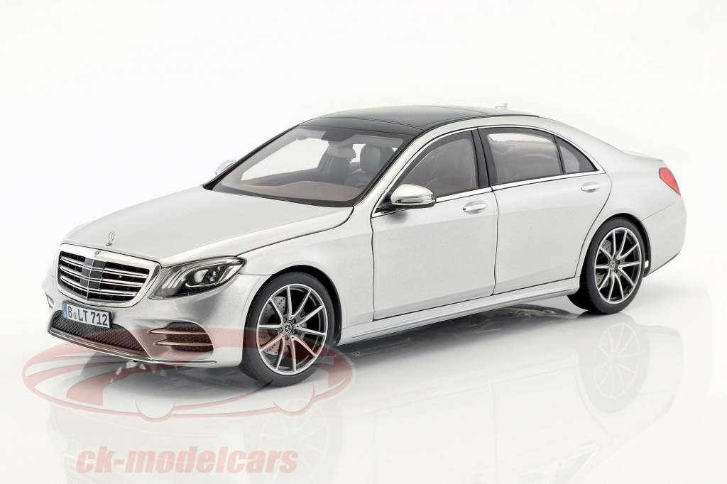 norev-1-18-mercedes-benz-s-class-amg-line-year-2018-silver-metallic-183479/