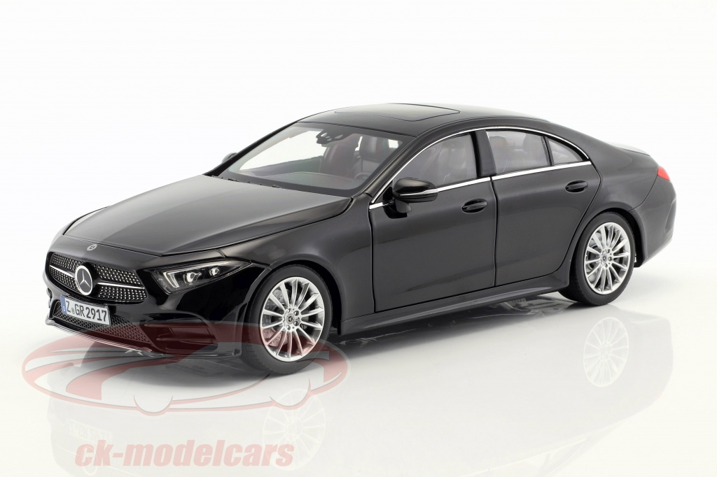 norev-1-18-mercedes-benz-cls-class-coupe-annee-de-construction-2018-noir-183592/