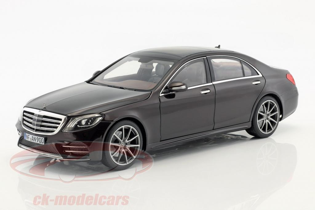 norev-1-18-mercedes-benz-s-class-amg-line-year-2018-ruby-black-metallic-183483/