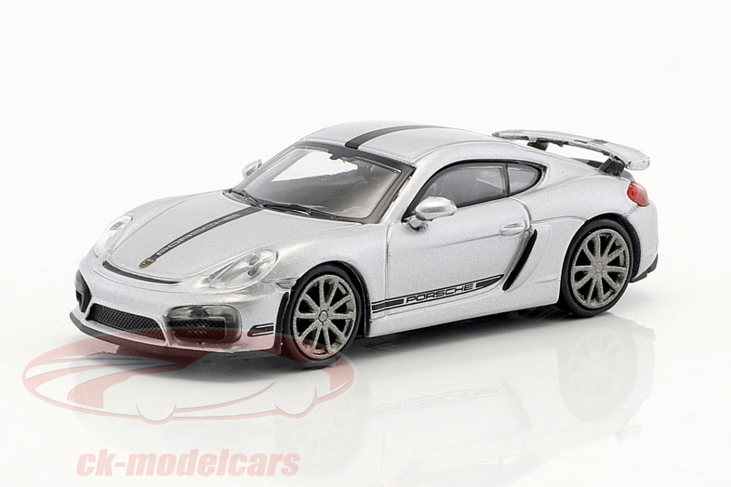 minichamps-1-87-porsche-cayman-gt4-year-2016-silver-with-black-stripe-870066124/