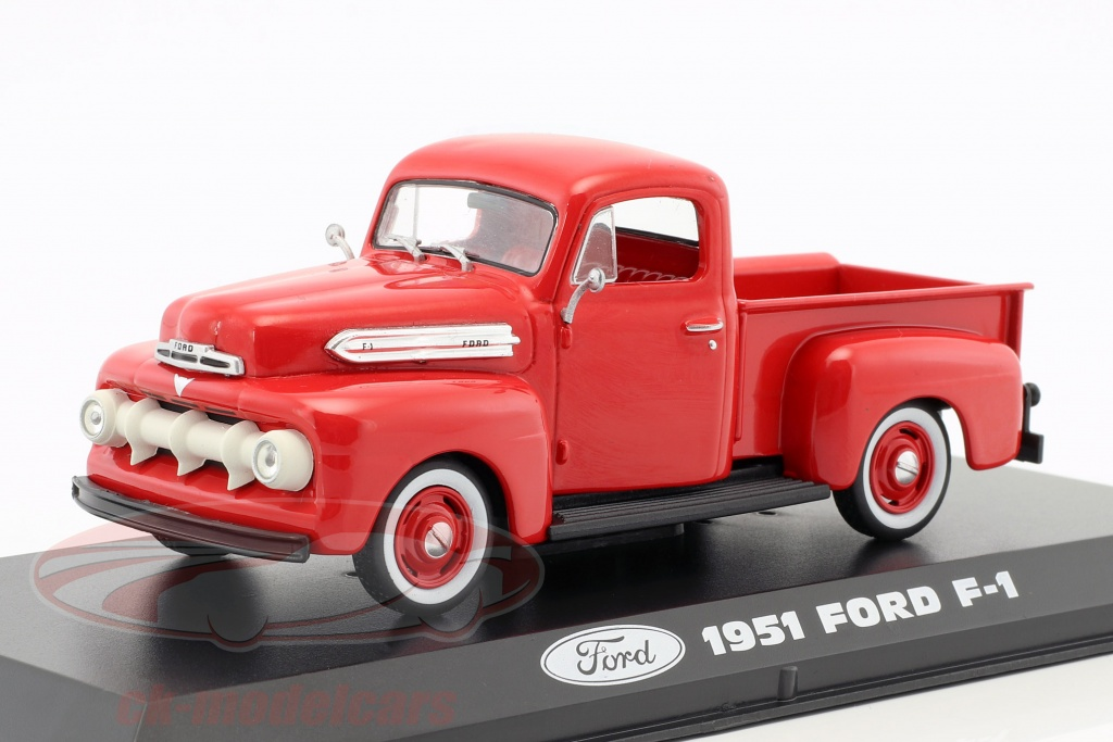 greenlight-1-43-ford-f-1-pick-up-annee-de-construction-1951-rouge-86316/
