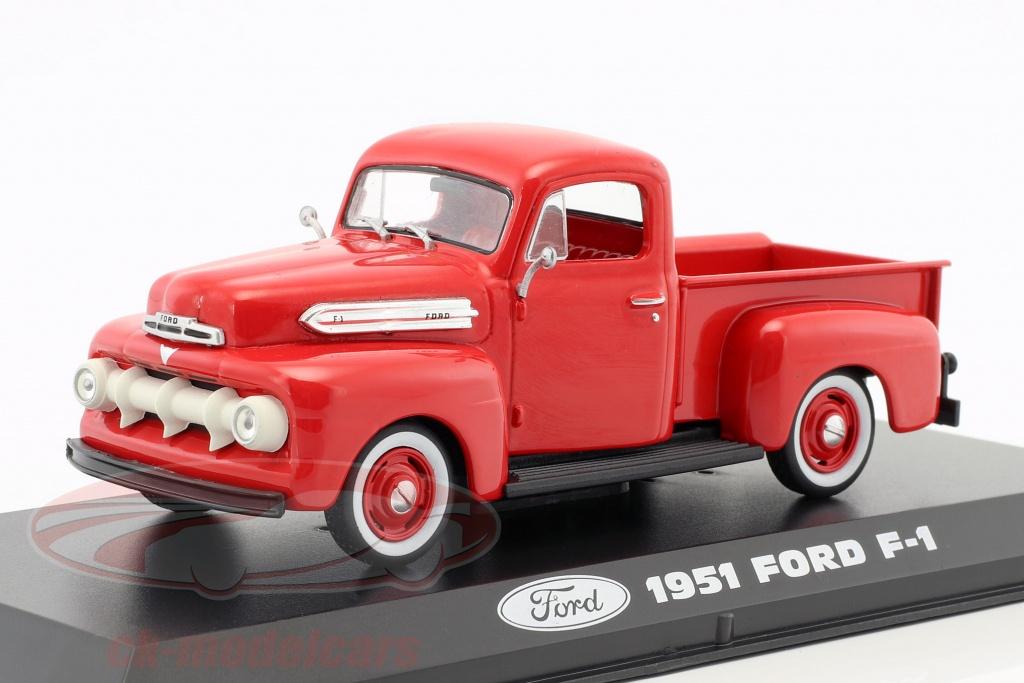 greenlight-1-43-ford-f-1-pick-up-anno-di-costruzione-1951-rosso-86316/