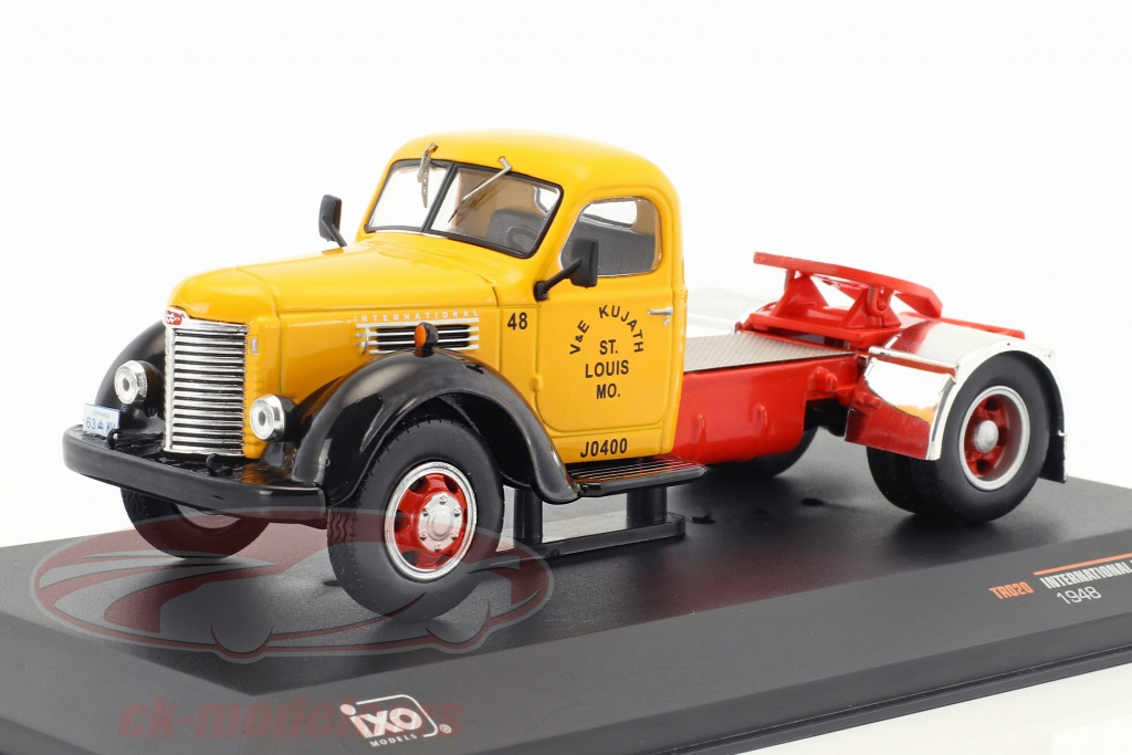 ixo-1-43-international-harvester-kb7-year-1948-yellow-red-black-tr020/