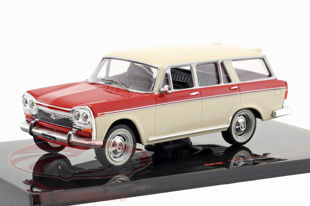 ixo-1-43-fiat-2300-familiare-annee-de-construction-1965-beige-rouge-clc155/