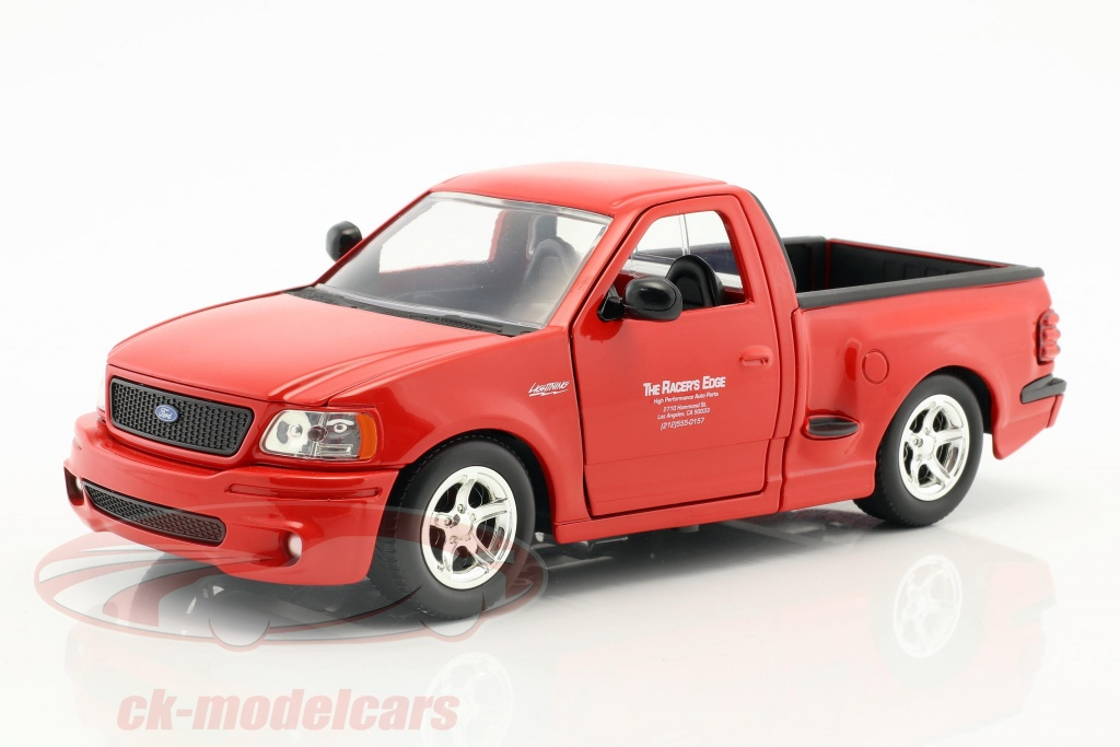 jadatoys-1-24-brians-ford-f-150-svt-lightning-movie-the-fast-the-furious-2001-red-99574/