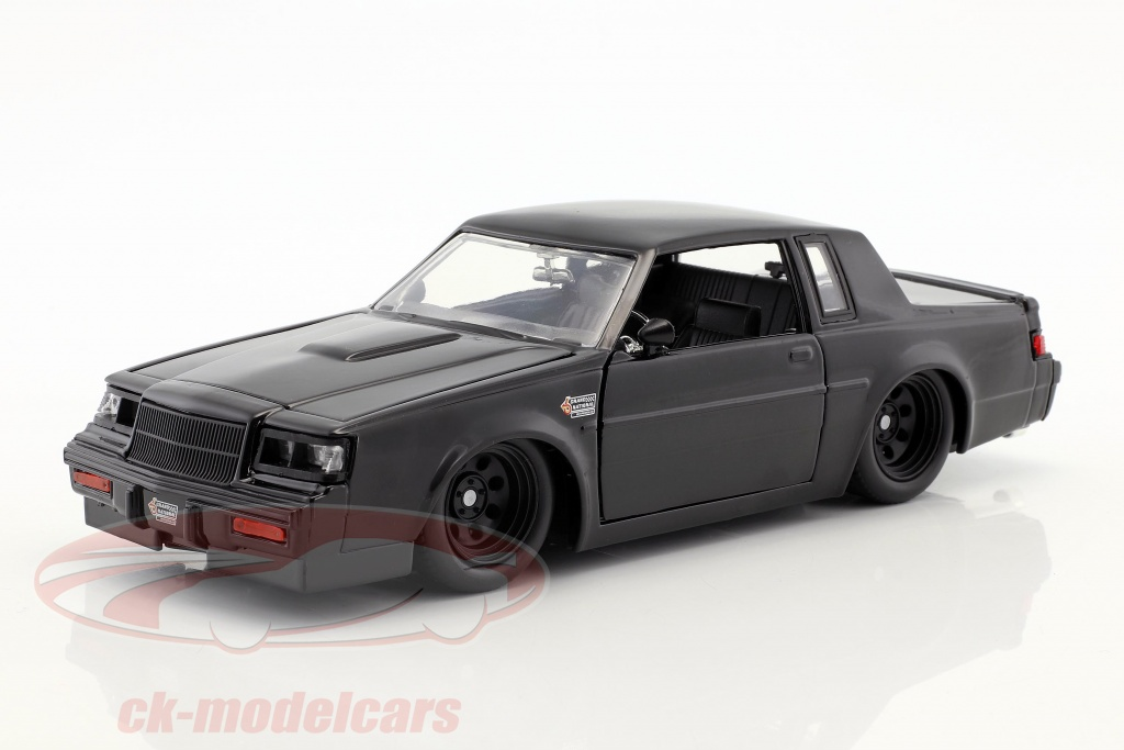 jadatoys-1-24-doms-buick-grand-national-year-1987-movie-fast-furious-2009-black-99539/