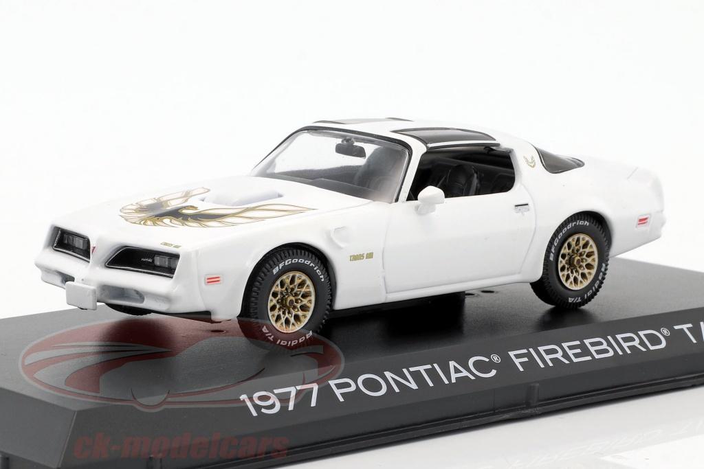 greenlight-1-43-pontiac-firebird-trans-am-annee-de-construction-1977-cameo-blanc-86331/