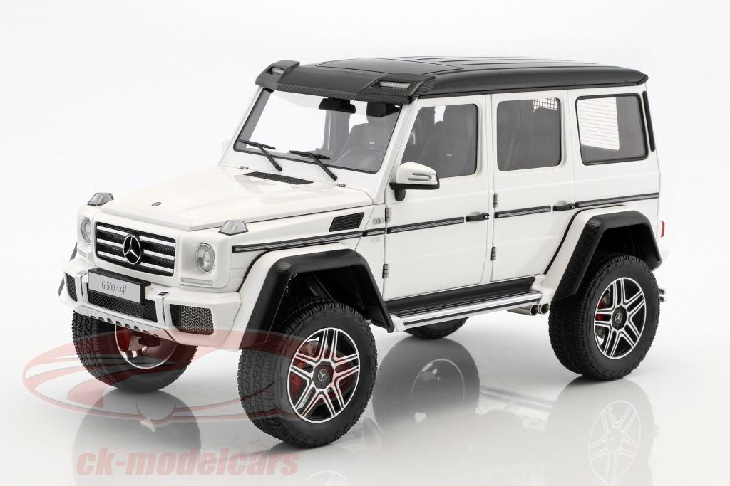 autoart-1-18-mercedes-benz-classe-g-g500-4x4-anno-di-costruzione-2016-lucidare-bianco-76316/
