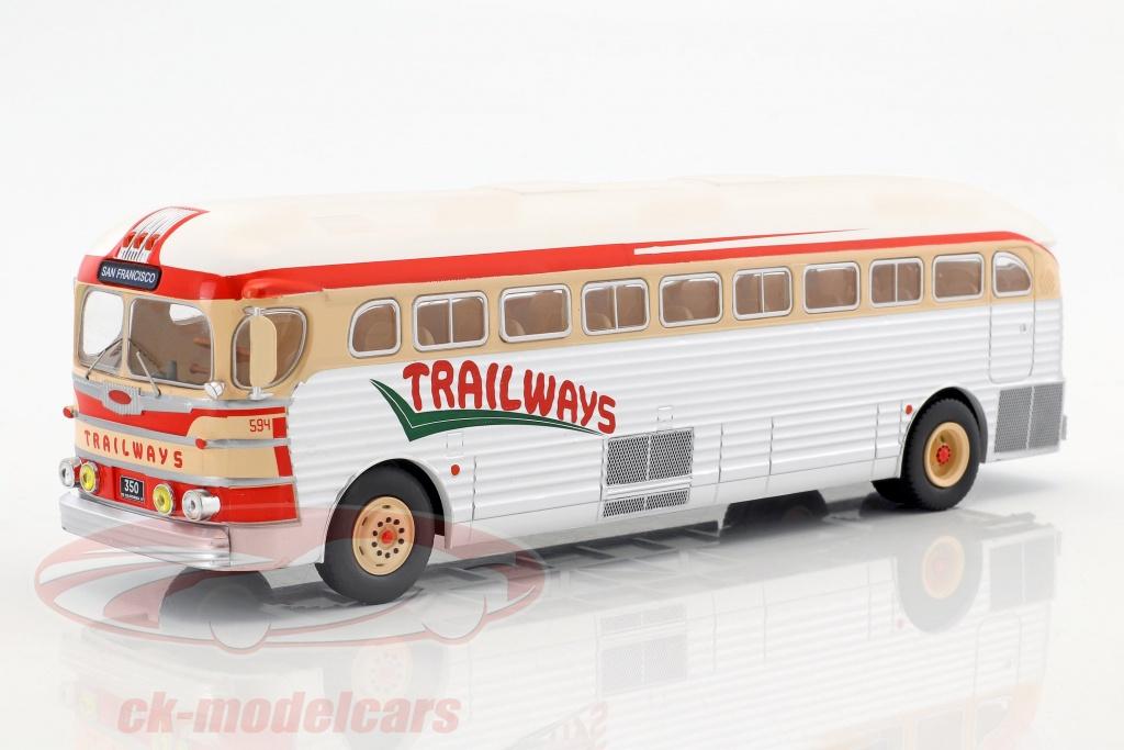 ixo-1-43-gmc-pd-3751-bus-trailways-annee-de-construction-1949-argent-rouge-beige-bus015/
