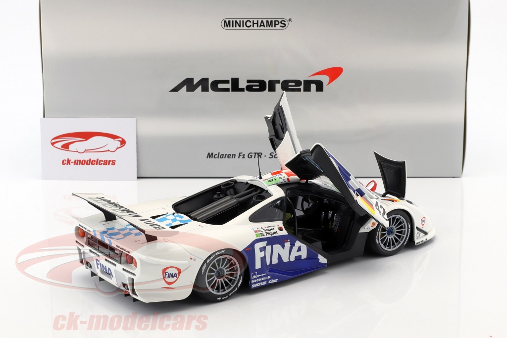1:18 Minichamps McLaren F1 GTR #42 24h Le Mans 1997