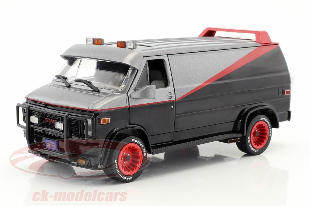 greenlight-1-24-bas-gmc-vandura-bouwjaar-1983-tv-serie-the-a-team-1983-87-zwart-rood-grijs-84072/